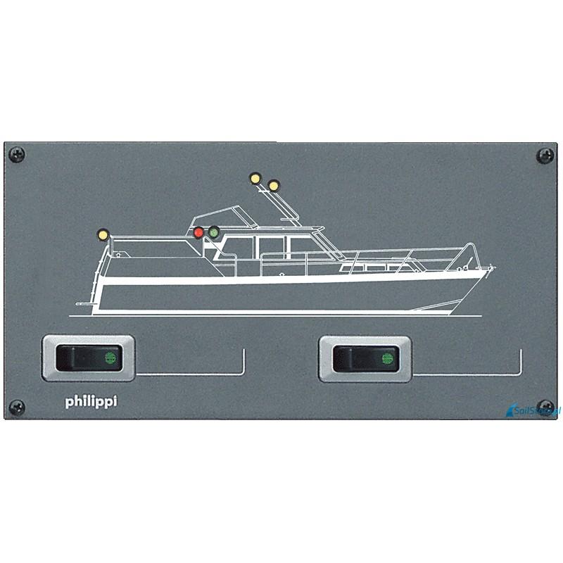 Panel sygnalizacyjny oświetlenia nawigacyjnego STV 202 MS