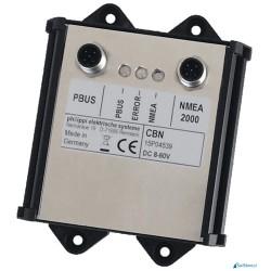 CBN - interfejs umożliwiający połączenie sieci P-BUS i NMEA2000®