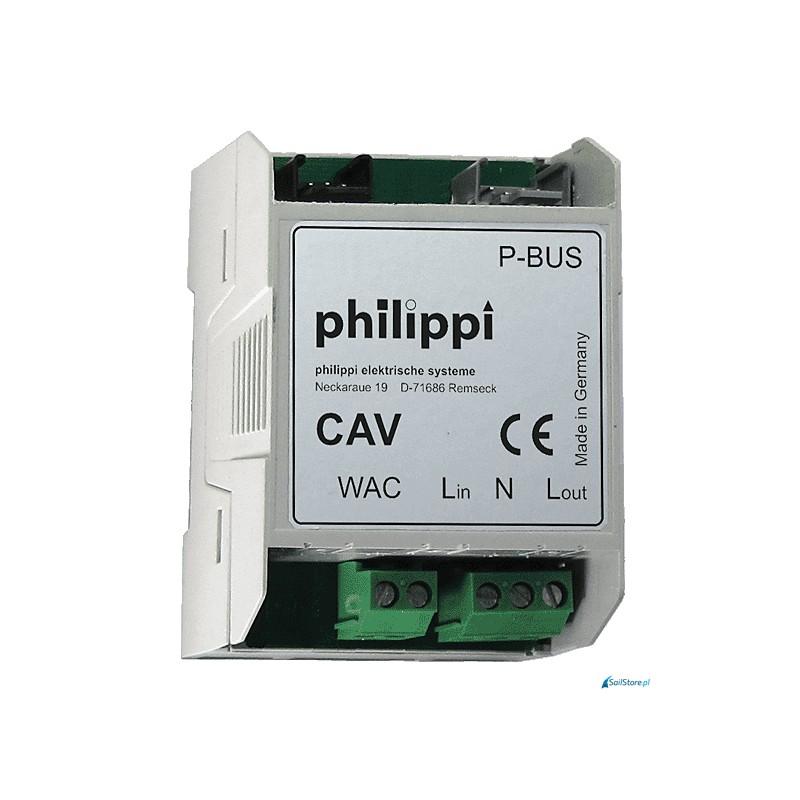 CAV - interfejs sieci AC dla szyn DIN