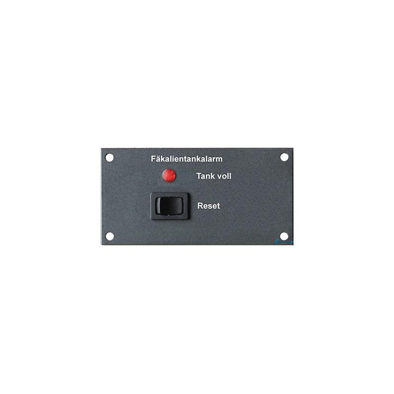 FAF – 12V – panel zbiornika fekaliów z alarmem akustycznym i wizualnym