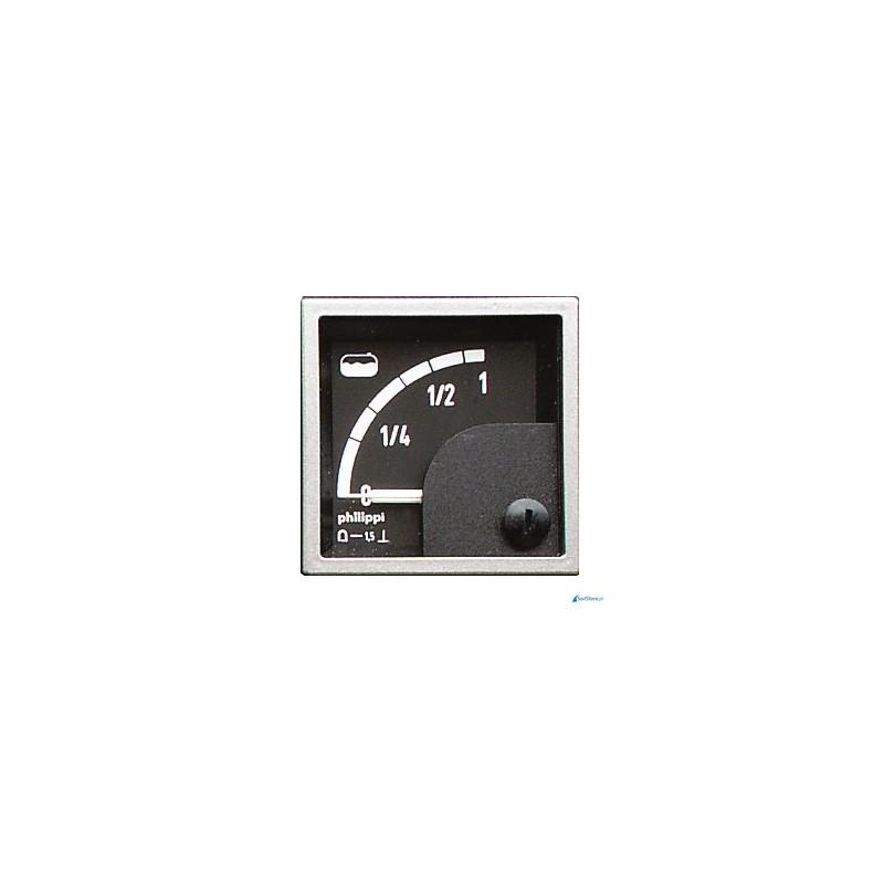 Miernik analogowy - SQB Fuel (10-180Ω) miernik poziomu paliwa do czujników TGT