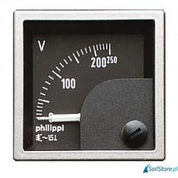 Miernik analogowy - SQB 16-32V - woltomierz DC