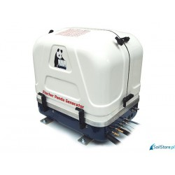 Generator spalinowy Panda 8000i PMS - moc nominalna: 0-6,4kW/0-8,0kVA. 230V-1 faza