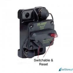 100A Reset przełączany, montaż w panelu - zabezpieczenie termiczne Bussman®