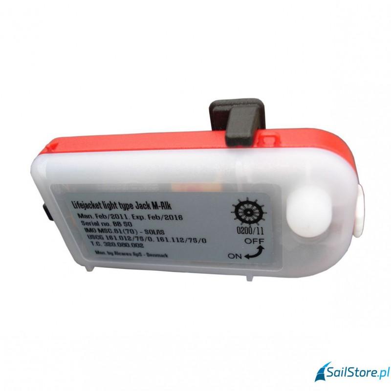 Zestaw oświetleniowy do pasa ratunkowego JACK M-ALK (manual), SOLAS