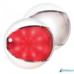 Lampa wewnętrzna biała/czerwona (Euro Led Touch)