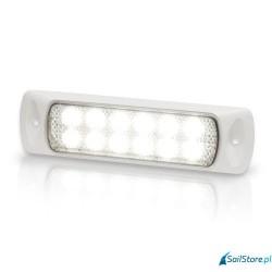 Lampa SeaHawk (12 LED) biała obudowa (wpuszczana)