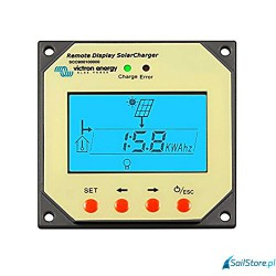Blue Solar Panel zewnętrzny do regulatora 12/24V-20A. Wymiary: 49 x 113 x 113 mm