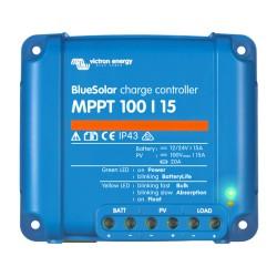 Blue Solar MPPT 12/24V - 15A - 100/15