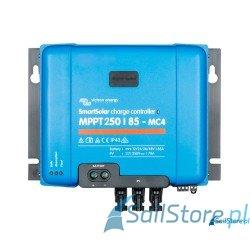 SmartSolar MPPT 12/24/36/48V 250/85-MC4 Wymiary: 200 x 250 x 95 mm