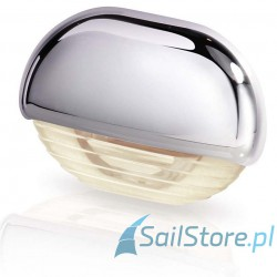 Lampa EasyFit LED, biała ciepła z chromowaną obudową z tworzywa