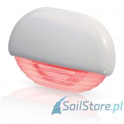 Lampa EasyFit LED, czerwona z białą obudową z tworzywa