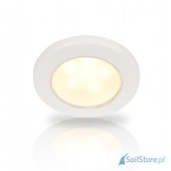 Lampa EuroLED 75, światło białe ciepłe, 12V, biała obudowa