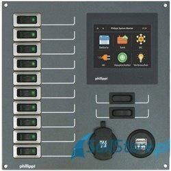 Rozdzielnia 12V z monitorem BTM - STV 232 (BTM)