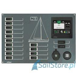Rozdzielnia 12V z monitorem BTM - STV 236 (BTM)