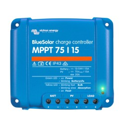 Blue Solar MPPT 12/24V - 15A - 75/15
