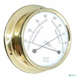 Higrometr + termometr Hanseatic Instruments Ø110 mm