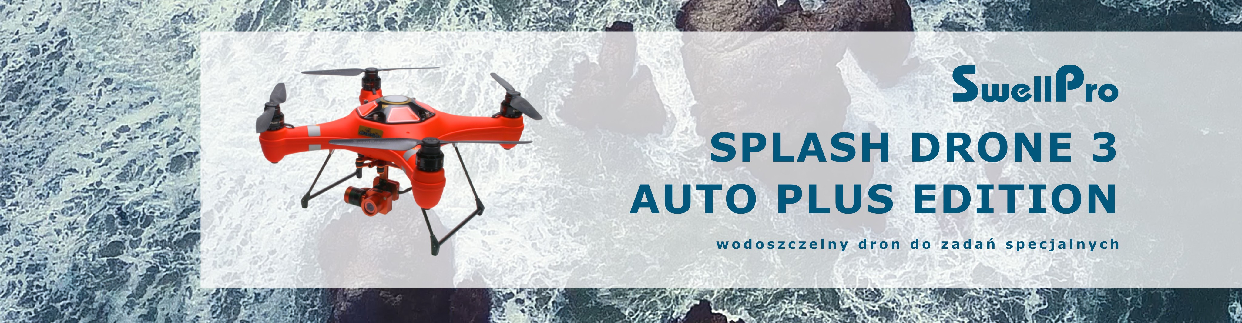 Splash Drone 3 Auto PLUS Edition